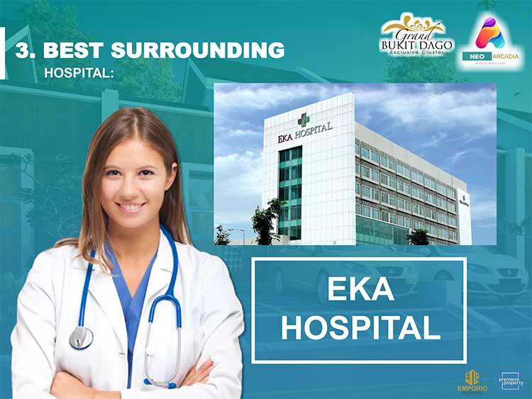 Neo Arcadia Dekat dengan Rumah Sakit